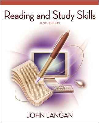 Reading and Study Skills By Langan, John